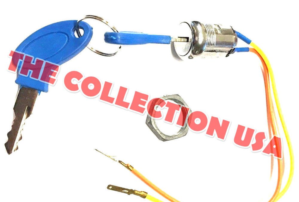 2 wire ignition key switch blue 2 position mobility. Black Bedroom Furniture Sets. Home Design Ideas
